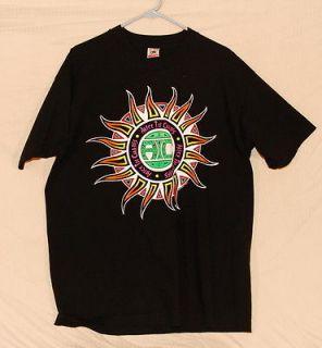 original alice in chains black t shirt xl