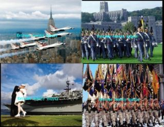 Army Navy Air Force Pearl Harbor Military West Point 2012 Wall