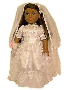 Newly listed NEW DOLL CLOTHES FOR 18 AMERICAN GIRL,Wedding Communion