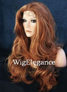 Lots of Layers and Volumn Long Loose Wavy Blonde Mix Wig w AH 27H613