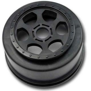 Scale SC Wheel 17mm Team Associated SC8 SC8E Black Der SCT 1
