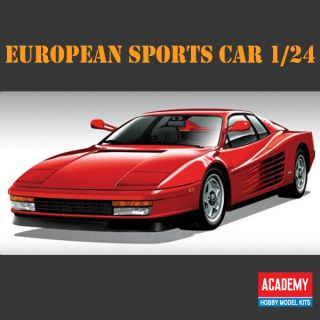 SPORTS CAR 1 24 Academy Model Kit Interior Super Sports Car Decor