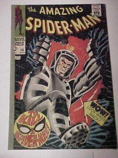 Amazing Spider Man #58 1968 Marvel Comics   A Pop Hollinger Rebuilt