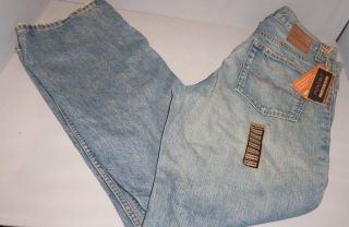Axist Mens Authentic Vintage Denim Straight Leg Jeans Sizes
