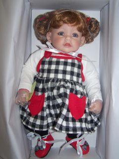 Adora Doll Checker Check Mate 20 Baby Girl Redhead Blue Eye Vinyl