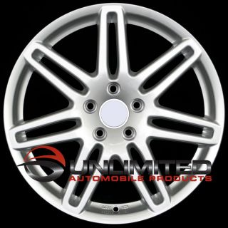 19 RS4 Silver Wheels Rims Fit Audi S4 1999   2012 B5 B6 B7 B8
