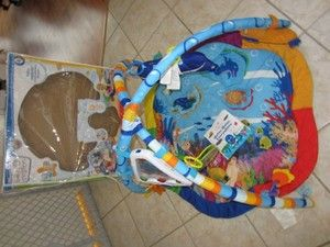 Baby Einstein Under The Sea Play Mat Gym Set