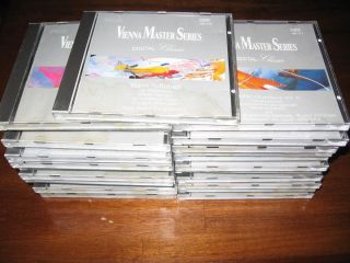 Vienna Master Series Digital Classic CD Lot of 25 CD