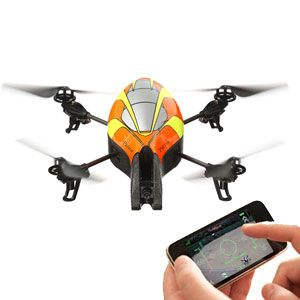 Parrot AR Drone Electric R C Quadricopter iPhone Andriod Compatable