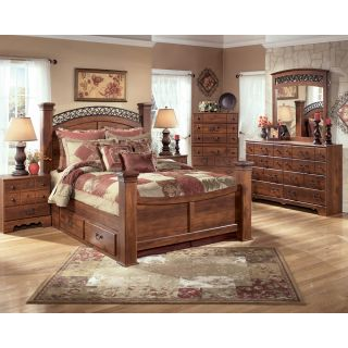 Ashley Leighton King Sleigh Bed Set Set B577 Ksle 31 36 93