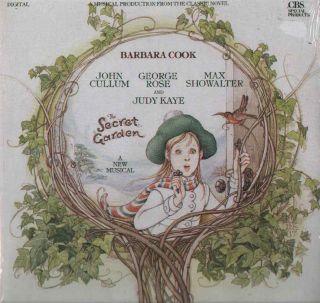 SECRET GARDEN NEW SEALED 1987 Musical Cast LP BARBARA COOK JOHN CULLUM