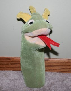 Baby Einstein Bard The Dragon Hand Puppet