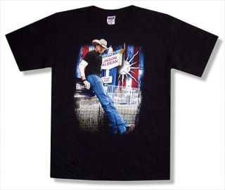JASON ALDEAN   STANDING PHOTO 2009 TOUR BLACK T SHIRT   NEW ADULT X