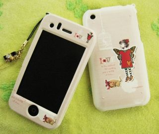 Apple iPhone 3G 3GS Hard Plastic Case Cover Audrey
