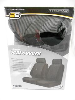 AE 5078761 Auto Expressions Braxton Seat Covers Black