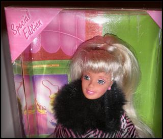 1997 Pink Box Special Edition Wild Style Barbie Doll
