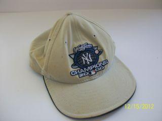 NY Yankees Baseball Cap New Era Low Profile MLB 2000 World Series Hat