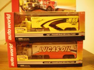 Semi Trucks with Jegs Lucas Oil Trailers Release 5 Auto World