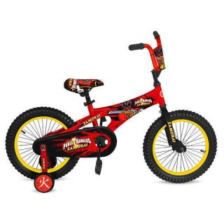 Avigo 12 inch Power Rangers Samurai Bike Boys Yellow