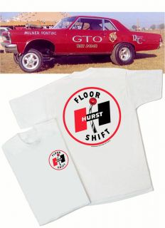 Floor Shift T Shirt   Gasser Muscle GTO SS AMX Mustang Rat Hot Rod