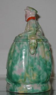 Antique Arthur Wood Staffordshire Pottery Tobacco Jar