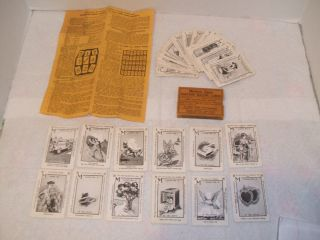Vintage Madame Signa Fortune Telling Cards with Box and Instructions
