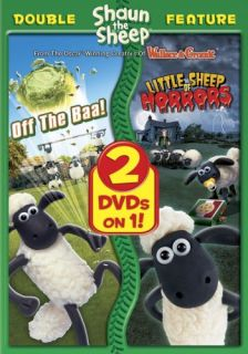 Shaun The Sheep Off The Baa Little Sheep Horrors New DVD Double