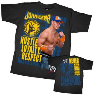 John Cena Never Give Up Hero T Shirt WWE Authentic XXL