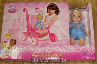 Disney Princess Magical Stroller Doll Baby My First Toy