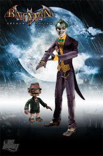 Batman Arkham Asylum s1 Joker & Scarface figure DC Direct 296906
