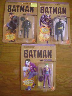 Batman 1989 Movie Set of 3 Action Figures Batman Joker Bob The Goon