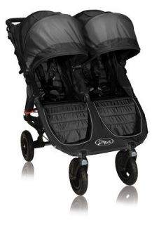 Baby Jogger Ciy Mini G Double Swivel Sroller Black Shadow 2012 New
