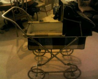 Antique Collier Baby Stroller Buggy 1920s Rare Vintage Excellent