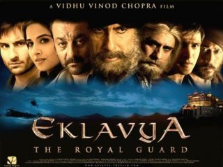 Movie Eklavya The Royal Guard DVD Starring Amitabh Bachchan Saif Ali