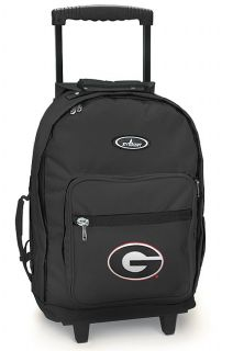 Rolling Backpack Best Georgia Bulldog Carryon Wheeled Bags