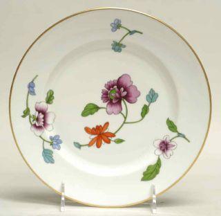 Royal Worcester Astley Floral Gold Salad Plate 633620