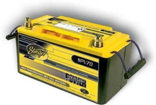 Volt AGM Deep Cycle Battery Power Series 1050 Amp 70AH 2100Watt
