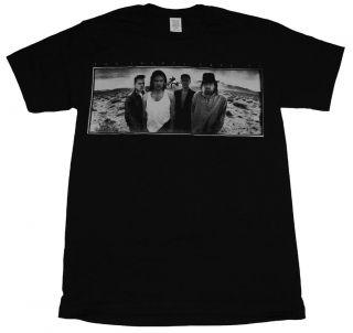 U2 Joshua Tree Europe 1987 Tour Rock Band T Shirt Tee