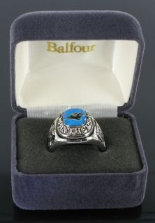 Balfour Ring Mens Football Carolina Panthers NFL Sz 14