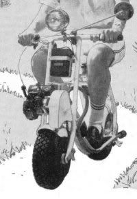 Go Kart Mini Bike Scooter Horseless Carriage 30 Plans