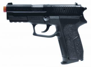 Sauer SP2022 Gas Airsoft Pistol   370 FPS Airsoft Gun With BAX System