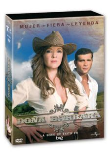 Doña Barbara 5 DVD Edith Gonzalez Christian Meier Serie