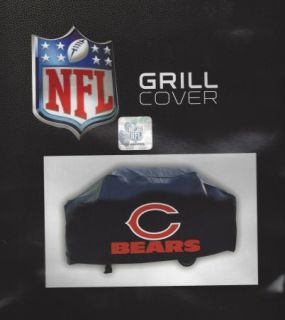 Chicago Bears Barbeque BBQ Gas Grill Cover Team Logo NFL Durable Vinyl