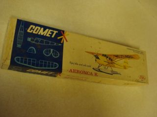 Comet Aeronca K Balsa Wood Scale Model Airplane Kit