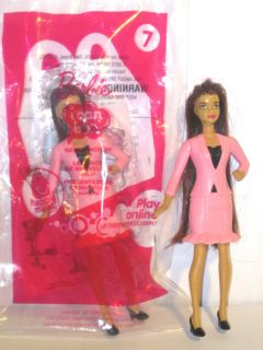 2012 McDonalds Barbie Happy Meal Toy for Girls 7 News Anchor