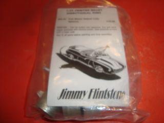 Scale Model Car Parts Set of Jimmy Flintstone Wheels Model Car