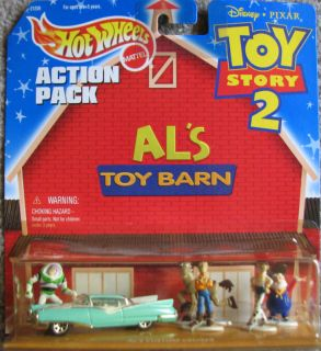 Disney Toy Story 2 Als Toy Barn Hot Wheels Set Diecast Car Plastic