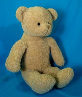 PBK Pottery Barn TAN Teddy BEAR Kids 15 Soft Plush Stuffed Animal