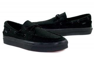 Vans Zapato Del Barco Boat Shoes VN 0XC3186 Black Authentic Men