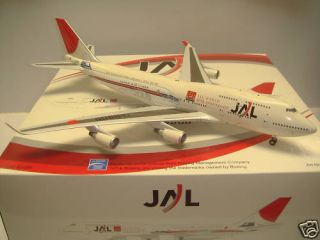 200 Inflight Aviation BBOX JAL JAPAN AIRLINES Boeing 747 400 50th